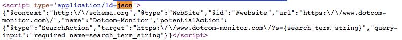 JSON Source Code
