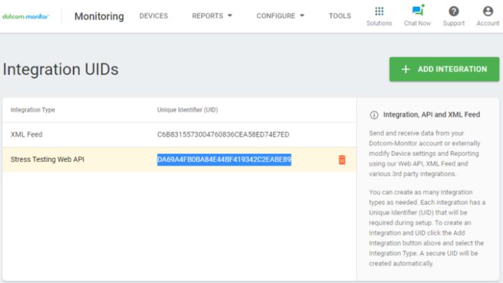 LoadView Plugin for Jenkins Integration UID