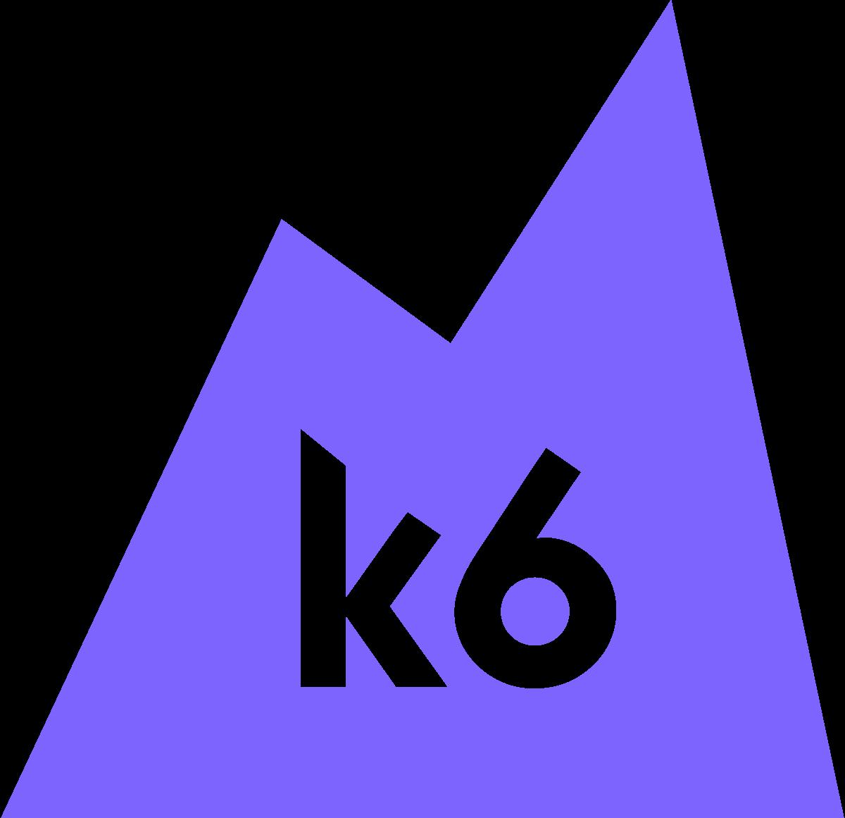 Logotipo de K6