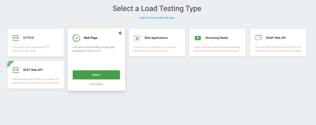 Load Testing Type