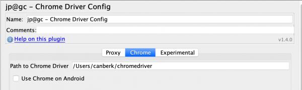 Selenium ChromeDriver