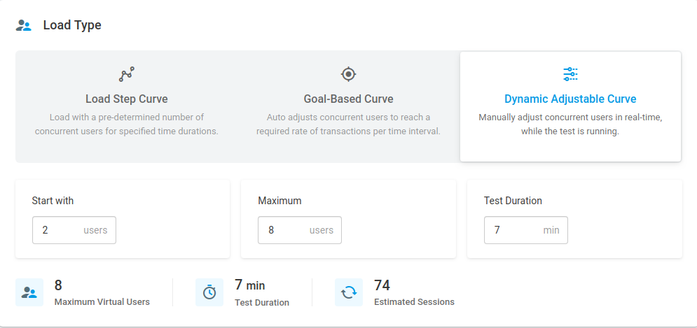 loadview dynamic adjustable curve
